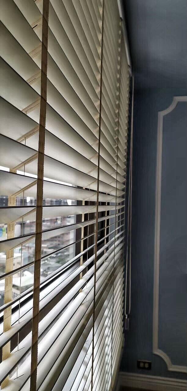 木百葉 光線調節 台中市窗簾案例