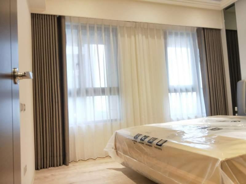 臥室窗簾 房間窗簾設計台中市 北屯區 窗簾推薦 精選案例