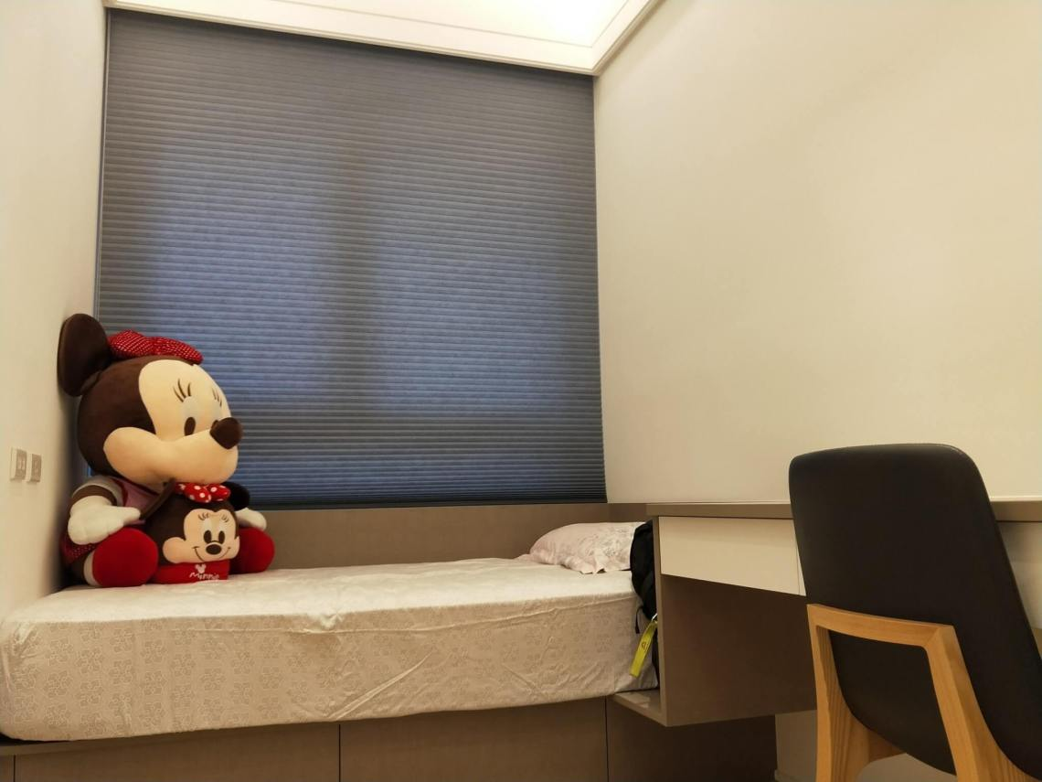 房間 臥室窗簾 HunterDouglas風琴簾 遮光 防曬 降溫 抗敏。