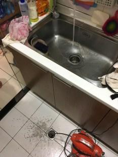 廚房流理台堵塞 不通
