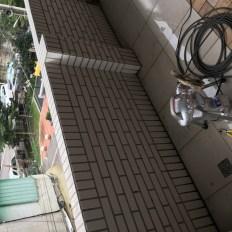 阿威通管行 陽台排水管不通
