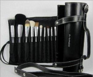 Mac Cosmetics Professional Brush Set 12 Piece With Case Techniques Why Uk Makeup Mugeek Vidalondon
