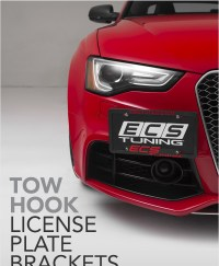 :: ECS Tuning :: NEW!! Tow Hook License Plate Bracket Kits