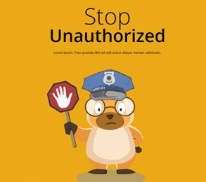 Image result for image unauthorized access