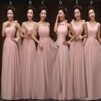 Blush Pink Bridesmaid Gown,Pretty Bridesmaid Dresses,Blush ...
