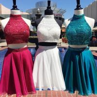 Homecoming Dresses,2 Piece Homecoming Dresses,white Sweet ...