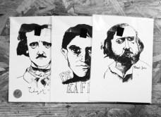 PACK/4 Portraits MP/Carte postale