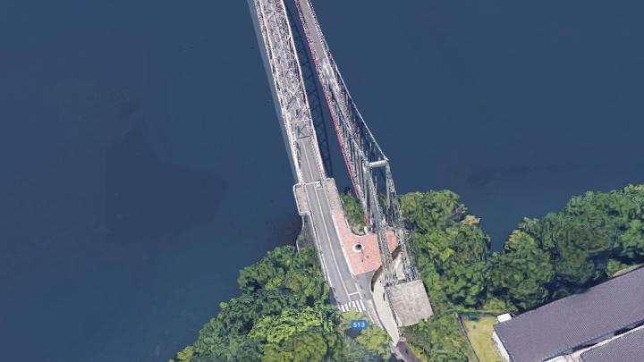 三井大橋(みいおおはし) 津久井湖