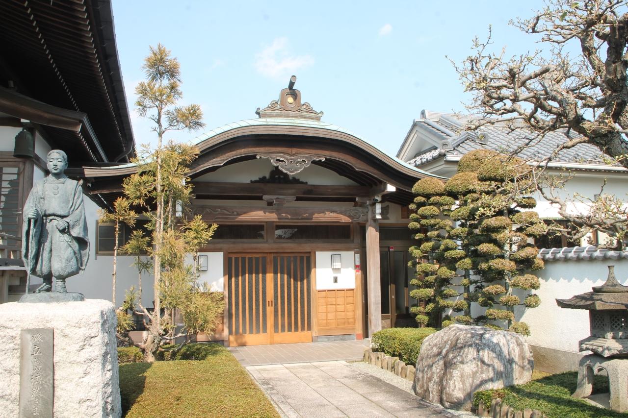 浄叡山伝重寺 町田 旅立ちの法然さま