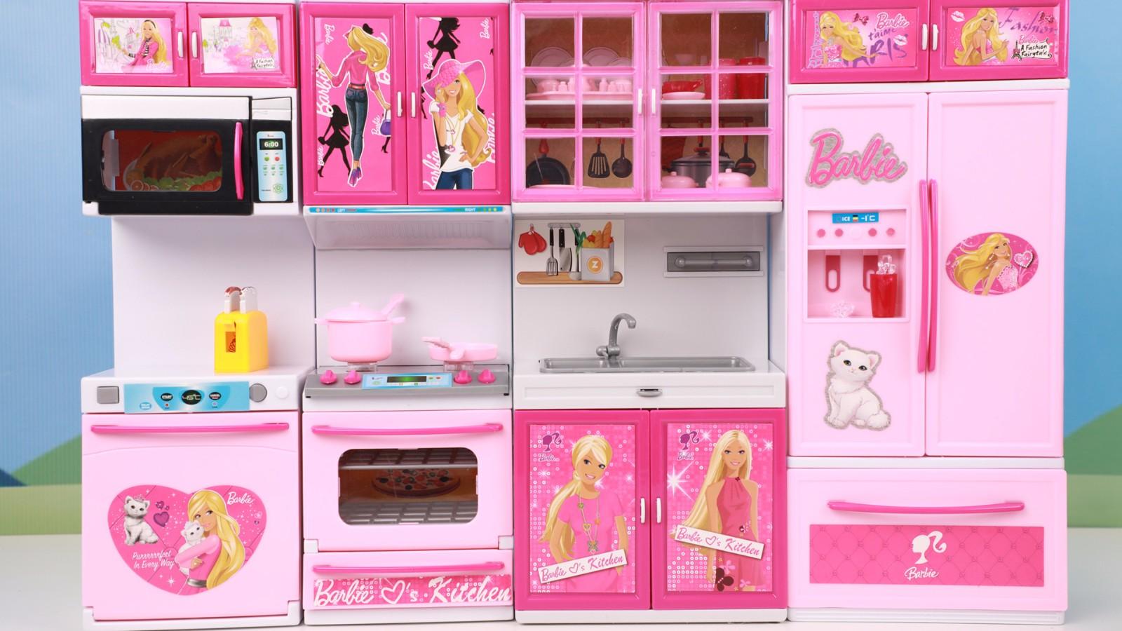 barbie kitchen playset colander 芭比娃娃超豪华厨房玩具分享芭比过家家玩具大全 视频在线观看 动态 芒果tv 09 23 芭比娃娃超豪华厨房