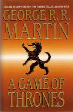 George RR Martin a Game of Thrones