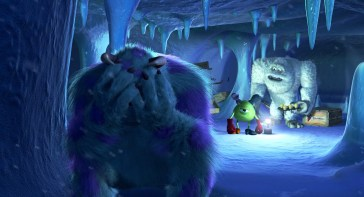 Monster's Inc Banished Sully Mike Abominable Snowman