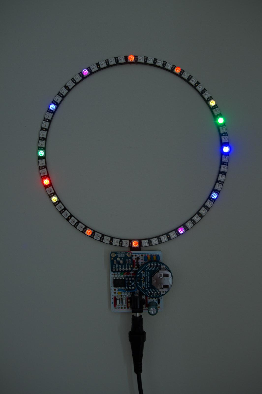 NeoPixel Clock  0x7Dcom