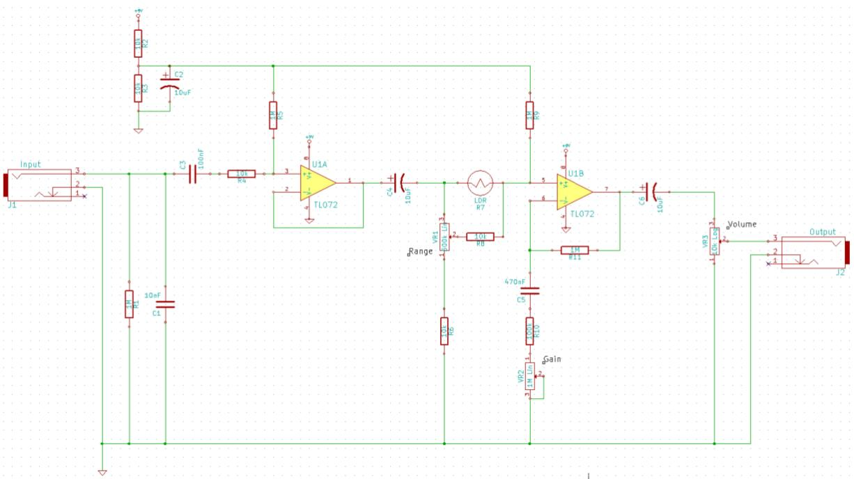 small resolution of  but is buffer pot boost okay because that circuit uses an ldr does it really matter if it s all unity gain altho the option for an actual boost