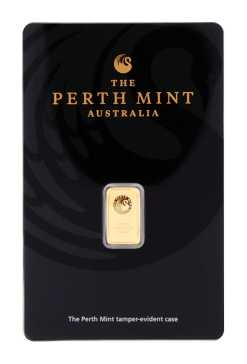 1 g Goldbarren von Perth Mint