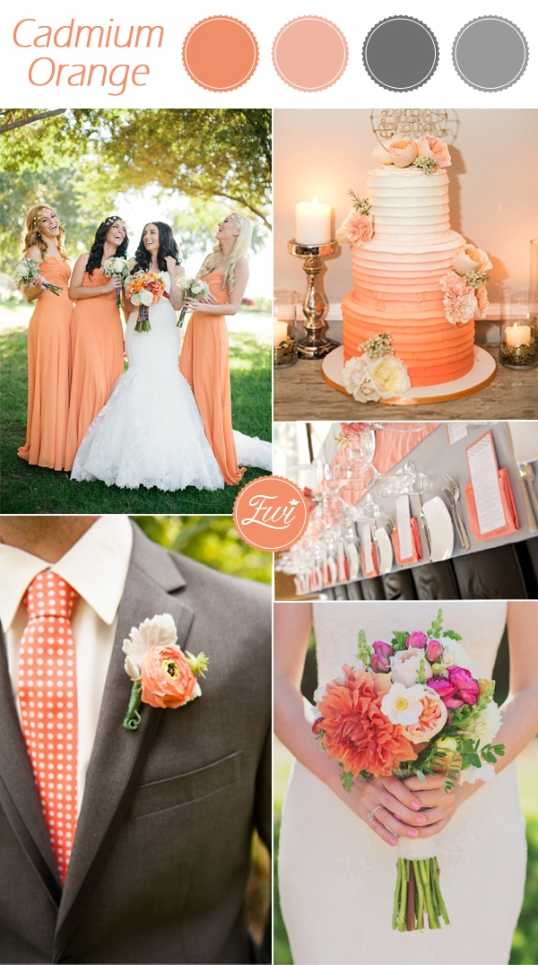 Fall Wedding Color Trends 20152016  Fashion Trends 20162017