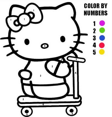 Hello Kitty Christmas Coloring Pages Images 2014-2015