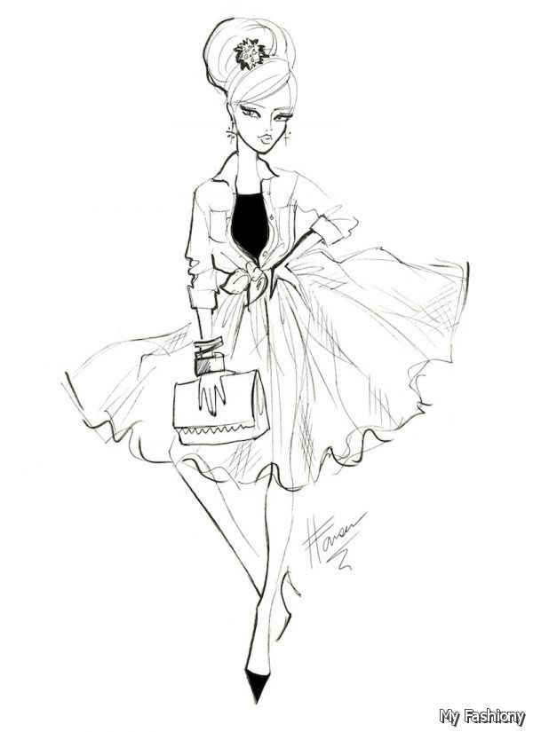 Fashion Design Sketches Of Outfits 2014