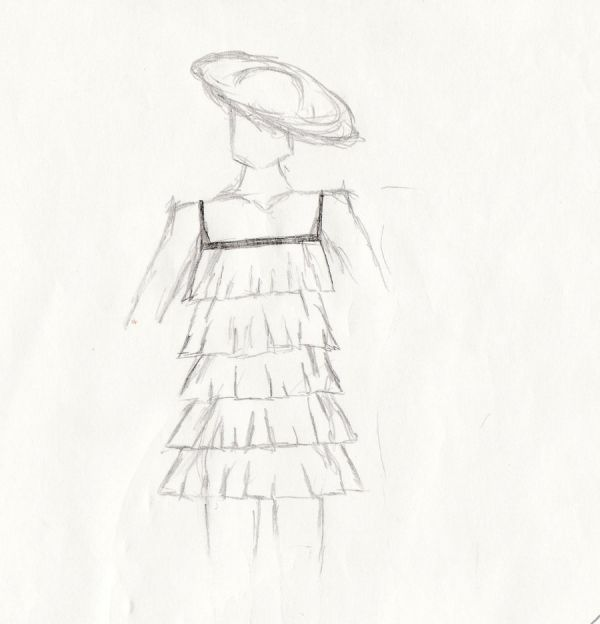 Fashion Design Sketches Of Short Dresses Fashion Trends