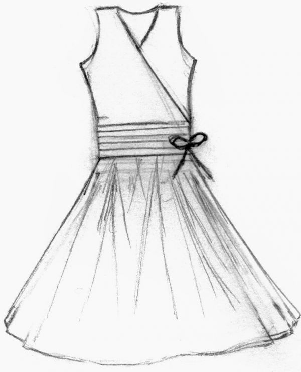 simple dress designs sketches � hd wallpaper gallery
