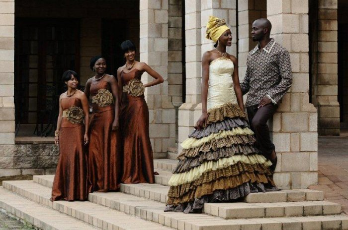 Patterns Dresses Traditional Sesotho