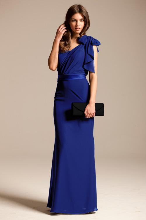 Royal Blue Bridesmaid Dresses With Sleeves 20142015