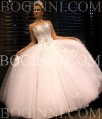 Beaded Cinderella Wedding Dresses 2014