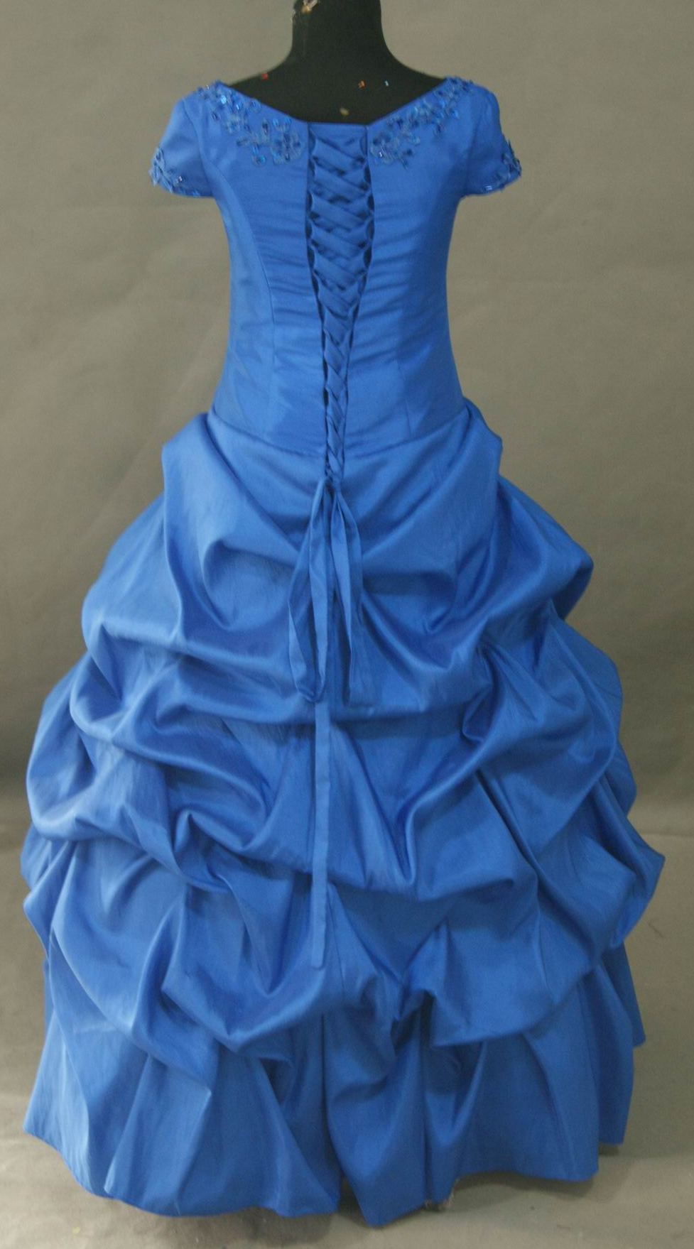 Royal Blue Bridesmaid Dresses For Kids 2014