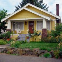 Yellow Exterior House Colors