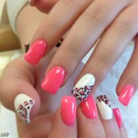 Acrylic Nails Tumblr Pink 2015-2016   Fashion Trends 2016-2017