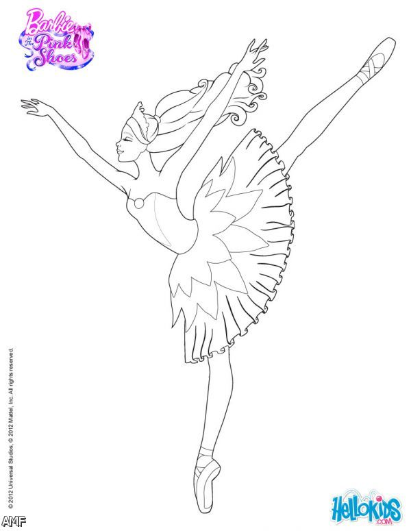 Barbie In The Pink Shoes Coloring Pages 2015-2016