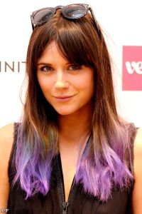 Brown Hair With Colored Tips 2015-2016 | Fashion Trends ...