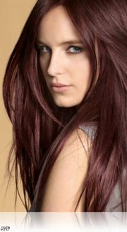 dark brown red hair color shades