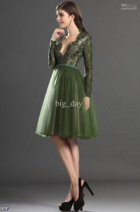 Dark Green Lace Prom Dress 2015-2016 | Fashion Trends 2016 ...