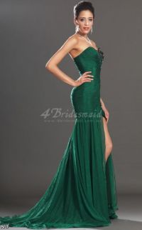 Dark Green Mermaid Prom Dresses 2015-2016 | Fashion Trends ...