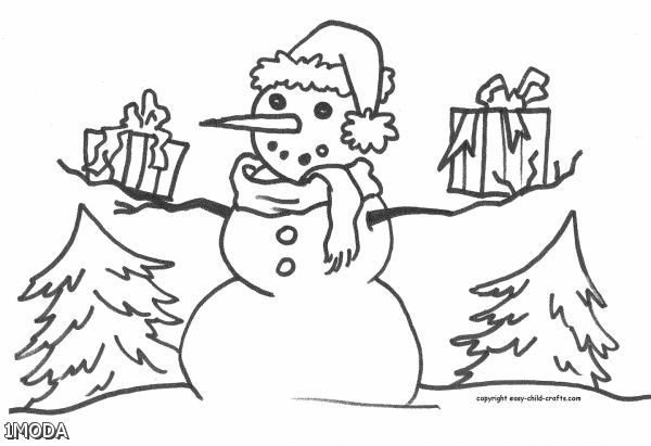 Frosty The Snowman Coloring Pages Printable 2015-2016