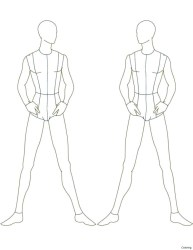 moda templates figure croquis template sketch male drawing sketches masculinos body drawings desenho draw designers outline female pesquisa google clothes
