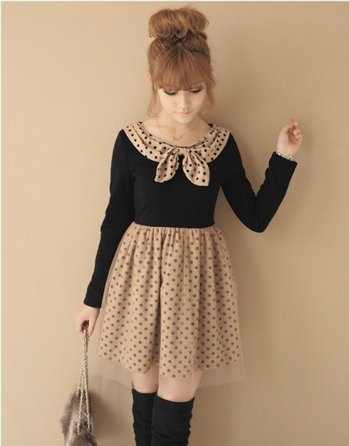 Cute School Dress First Day Outfits