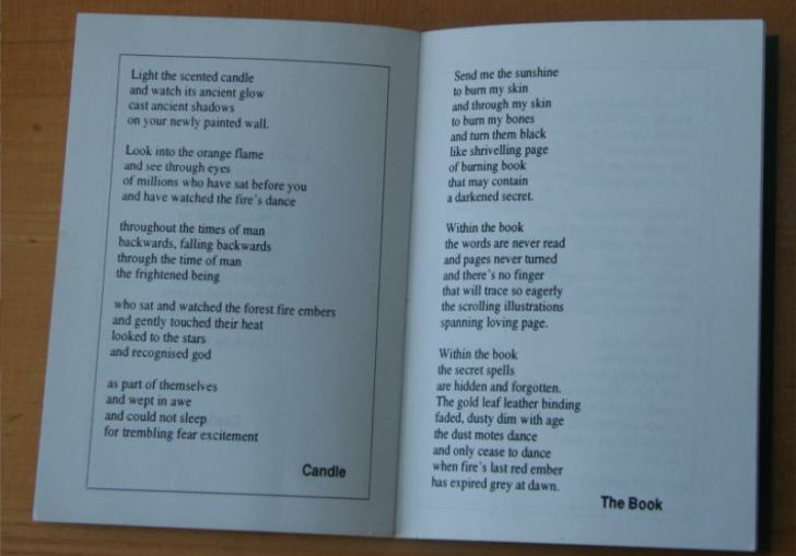 Sample Candle Lighting Poems Examples
