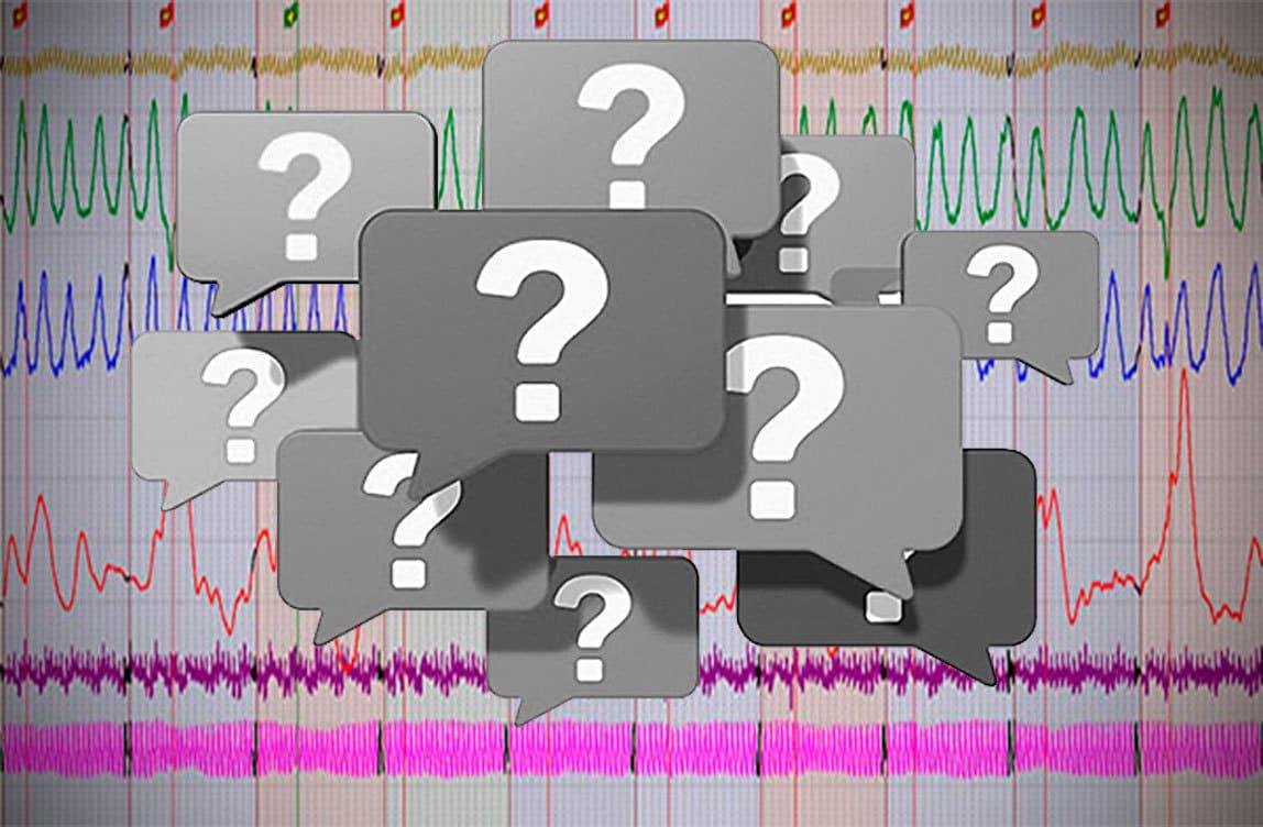 Deshalb ist die Qualifikation des Polygraphologen wichtig - so dass er einen Versuch unterscheiden kann, von der nervösen Überspannung zu lügen. Deshalb finden Tests 1,5-2 Stunden statt, in denen Hunderte von Fragen fragen.