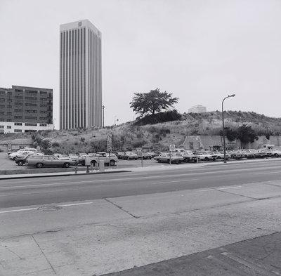 landscape downtown los angeles