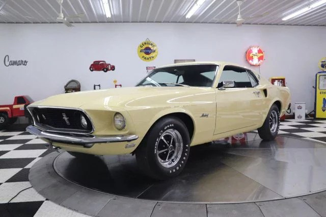 Ford's answer to the z/28. 1969 Ford Mustang Fastback For Sale Near Clarence Iowa 52216 Classics On Autotrader