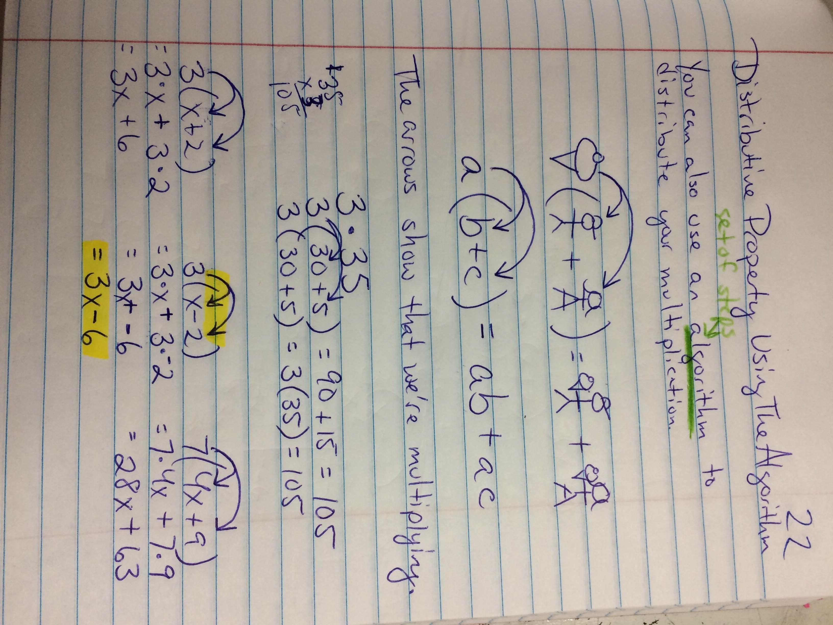 Algebra Tiles Distributive Property Worksheet
