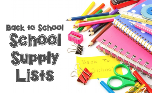Image result for 2018- 19 SCHOOL SUPPLY LIST