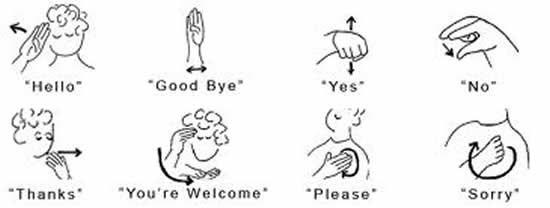 Sign Language Club – Sign Language