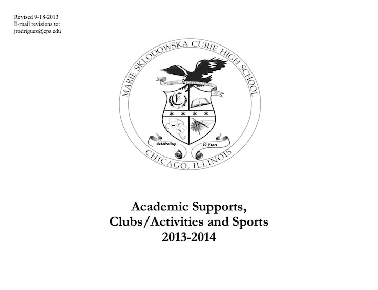 Clubs, Activites & Supports – Students