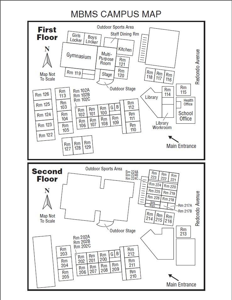 School Map – Our School