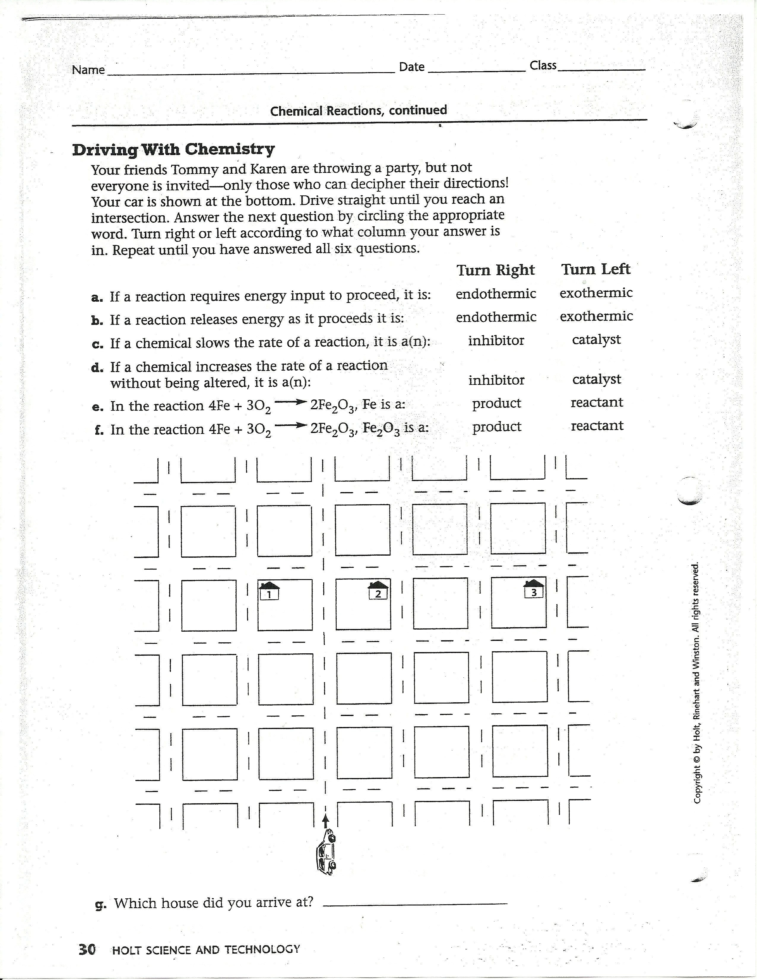 Section Holt Science And Technology Worksheet Answers
