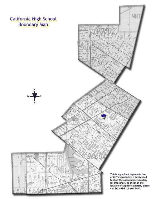 School Boundaries – Our School