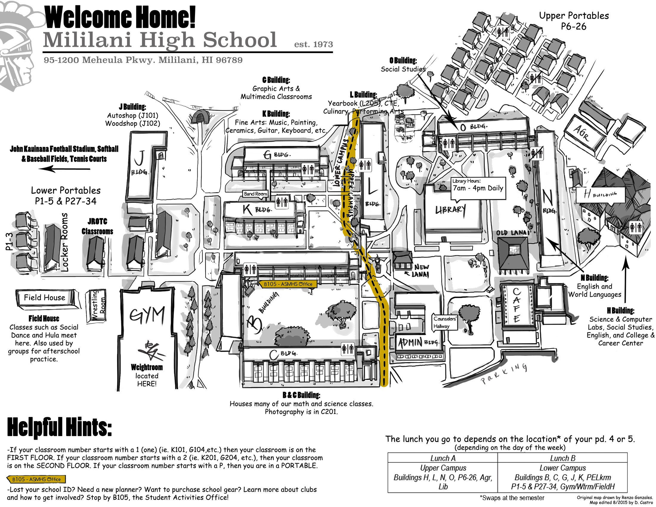 Campus Map – School Info